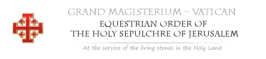 Home Page of the Grand Magisterium of the Equestrian Order of the Holy Sepulchre